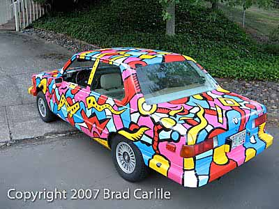 art car, Tom Cramer artist