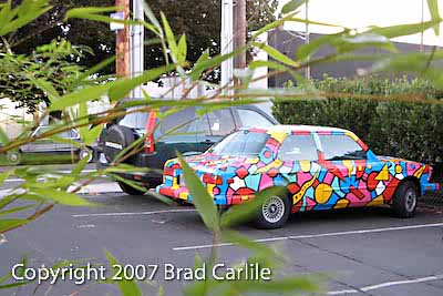 My Art Car painted by Tom Cramer