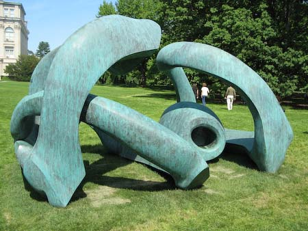 Henry Moore NYBG Hill Arches