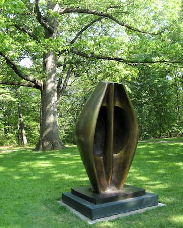 Henry Moore NYBG Large Totem Head