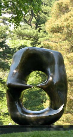 Henry Moore NYBG Oval with points 1