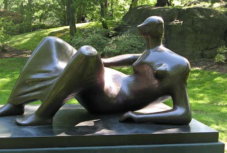 Henry Moore NYBG reclining Figure Angles
